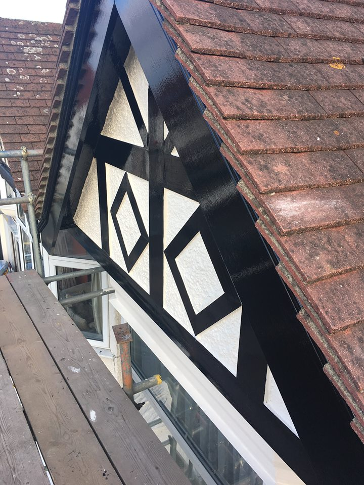 Gable Refurbishment & Guttering Repairs London