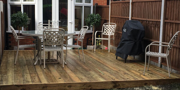 Bespoke Garden Decking London